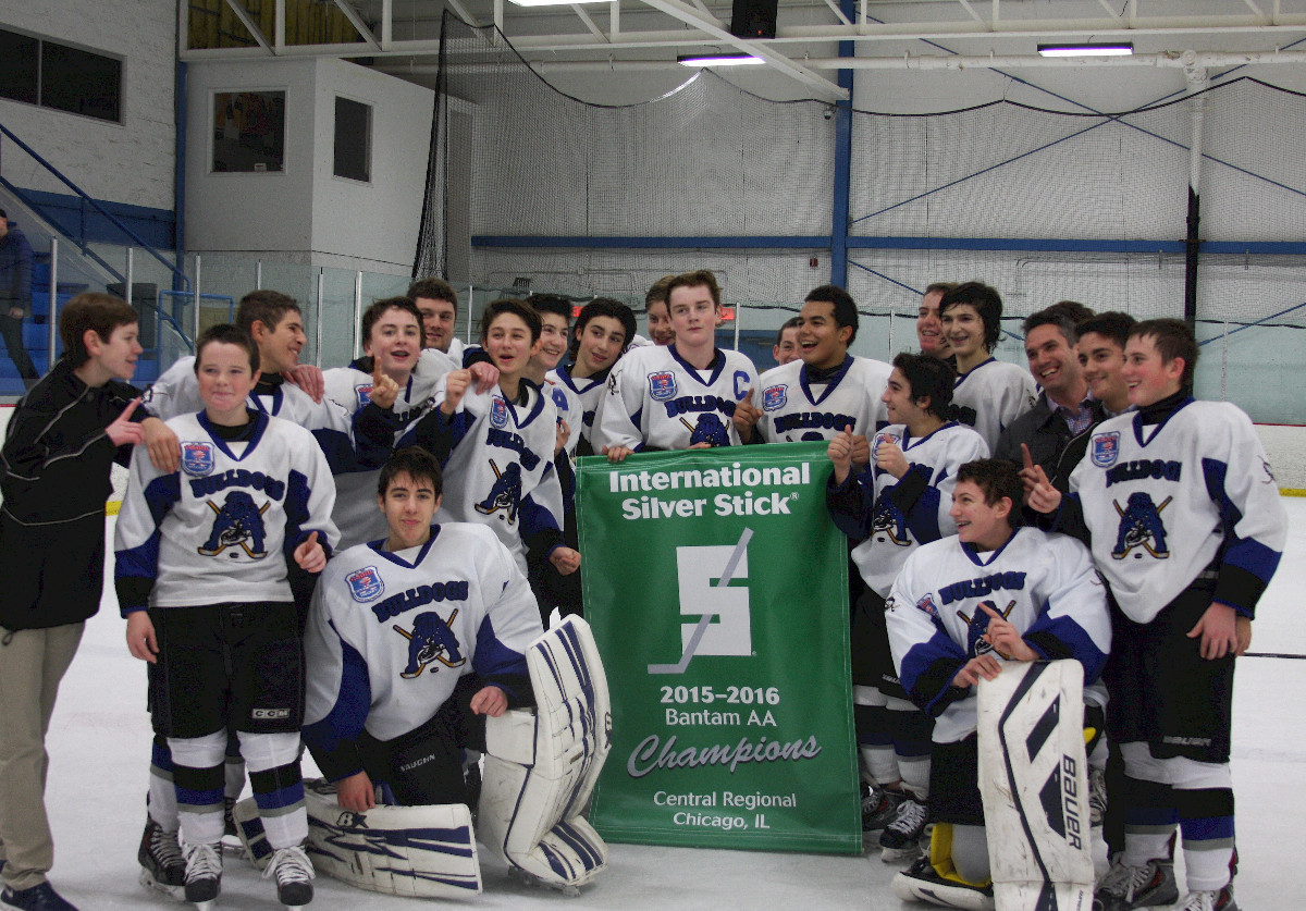 Chicago Bulldogs 2015 Chicago Regional Silver Stick Bantam Champions