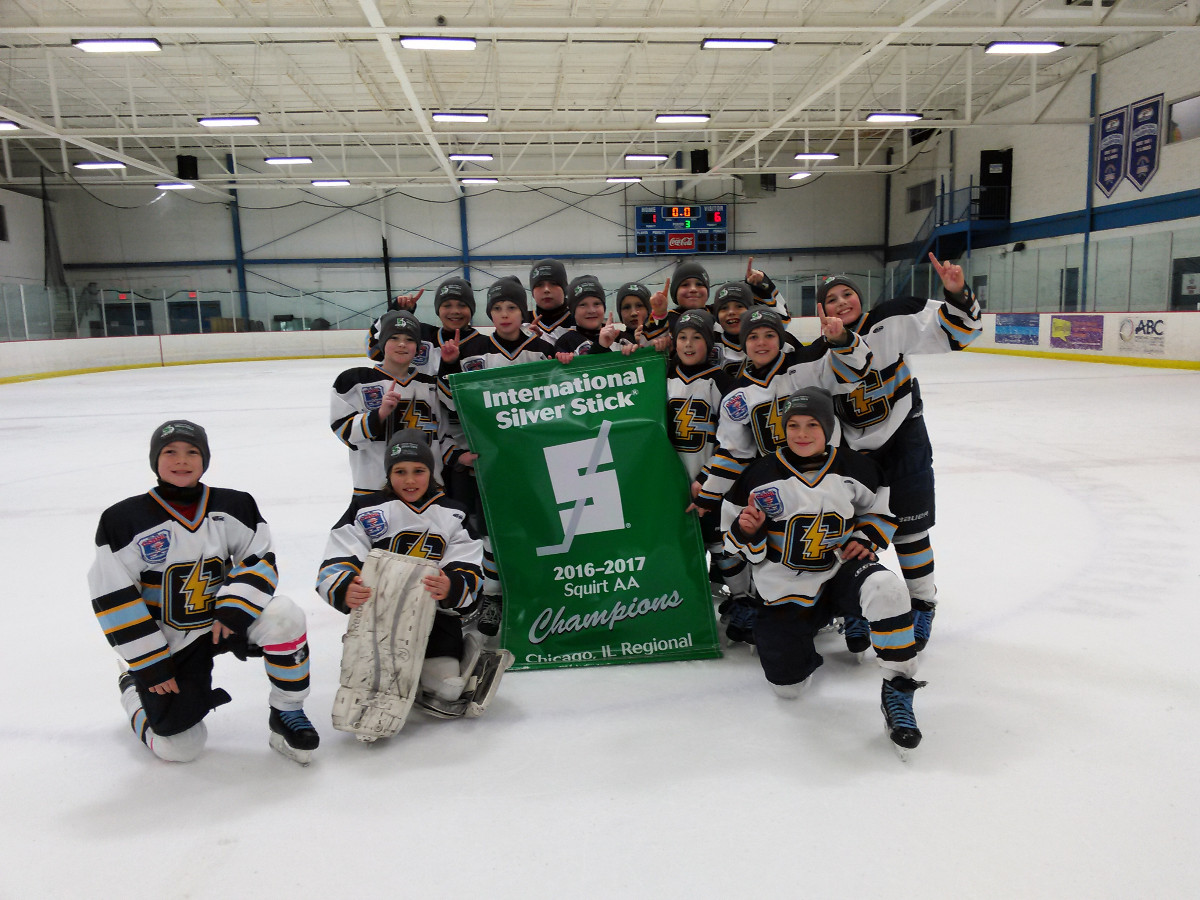 2016 Silver Stick Squirt AA Champions Northwest Chargers
